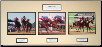 Affirmed Triple Unsigned Matted / Mounted