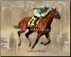 American Pharoah 2015 Breeders' Cup Collage