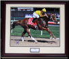Curlin 2008 Dubai World Cup Photograph 16 x 20 Framed Signed
