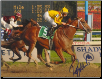 Curlin 2008 Woodward Stakes 8x10 Photo Signed