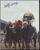 Dancer's Image 1968 Ky. Derby Photo 8x10 signed Bobby Ussery