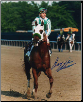 Point Given Belmont Stakes #2 8x10 Signed