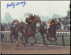 Proud Clarion 1967 Ky. Derby Signed Bobby Ussery Photo 8x10