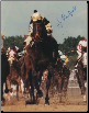 "Seattle Slew 1977 Kentucky Derby 16"" x 20"" Signed"