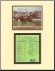 Secretariat Kentucky Derby Mini Collage Signed