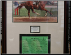 Secretariat Kentucky Derby Program Commemorative Framed & Signed