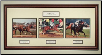 Secretariat Triple Crown Photo Collage Signed