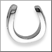 Sterling Silver Horseshoe Pendant with Chain