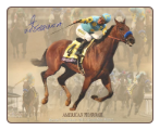American Pharoah 2015 BC / Grand Slam Collage 8×10 Signed