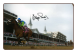 Barbaro Kentucky Derby Remote 12x18 Signed