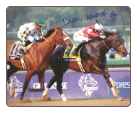 Fort Larned 2012 Breeders' Cup Classic Signed Photo B. Hernandez Jr.