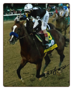 Authentic 2020 Kentucky Derby Winning Photo Signed