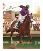 California Chrome 2014 Kentucky Derby Finish Two Signed