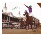 California Chrome 2014 Kentucky Derby Remote FInish Signed