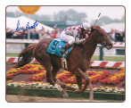Funny Cide Preakness Stakes 8x10 Signed